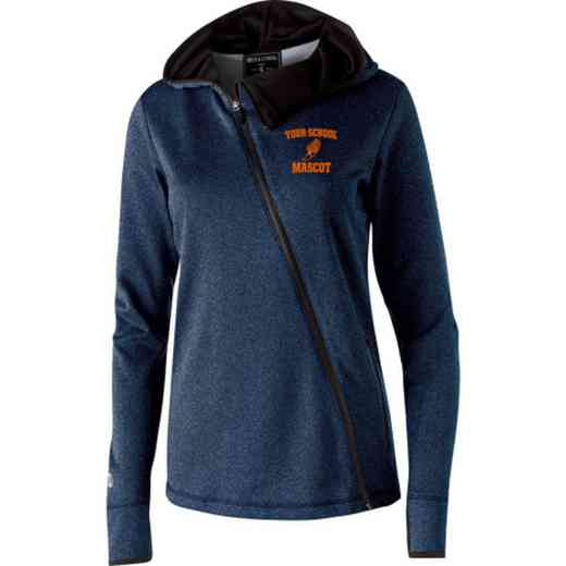 Track and Field Embroidered Holloway Ladies Artillery Jacket
