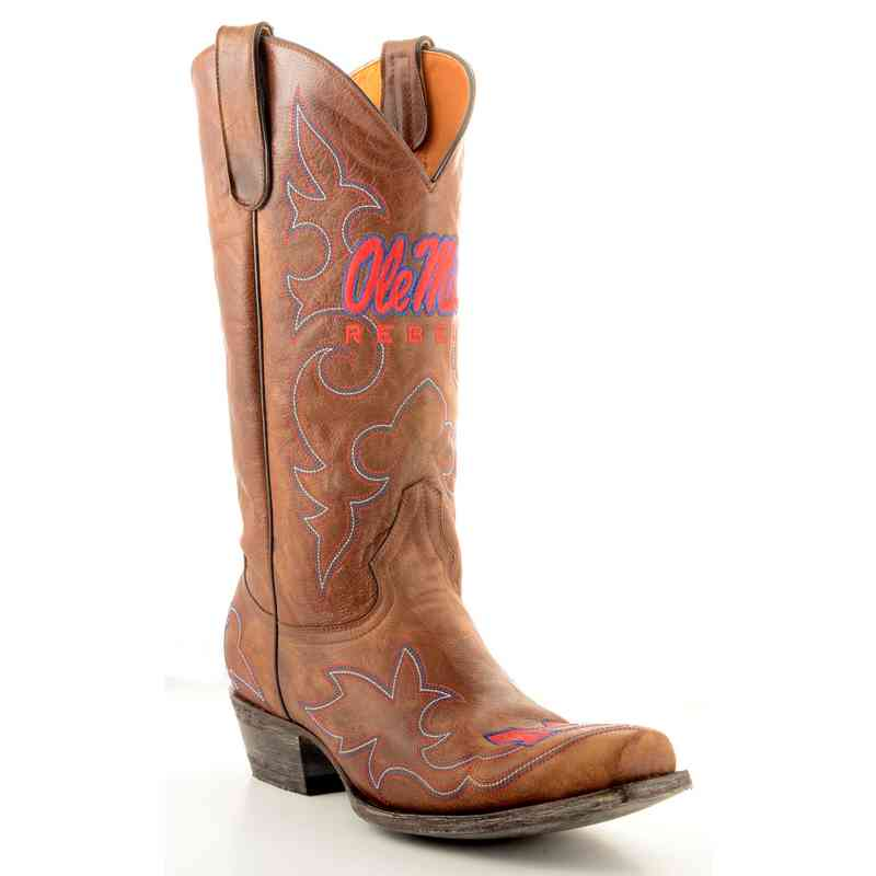 Men's Ole Miss Rebels Tailgate Cowboy Boots