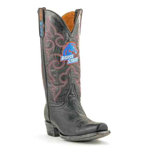 Men's Boise State Broncos Executive Black Boots by Gameday Boots