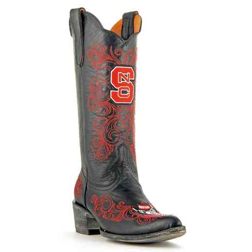 "NC State Ladies 13"" Black Boots by Gameday Boots"