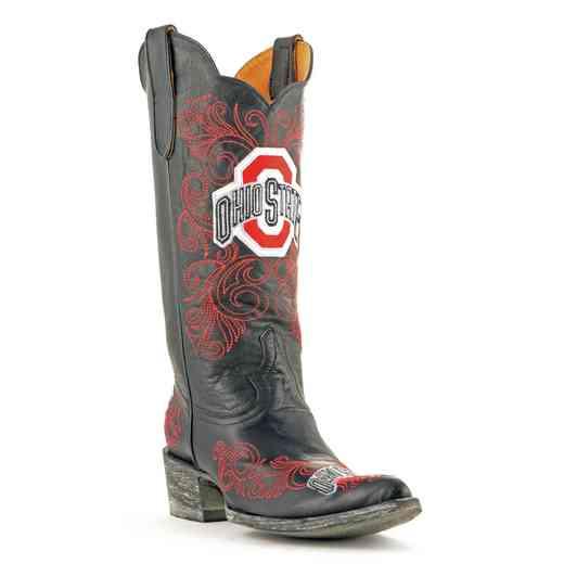 Ohio State Ladies 13'' Black Gameday Boots