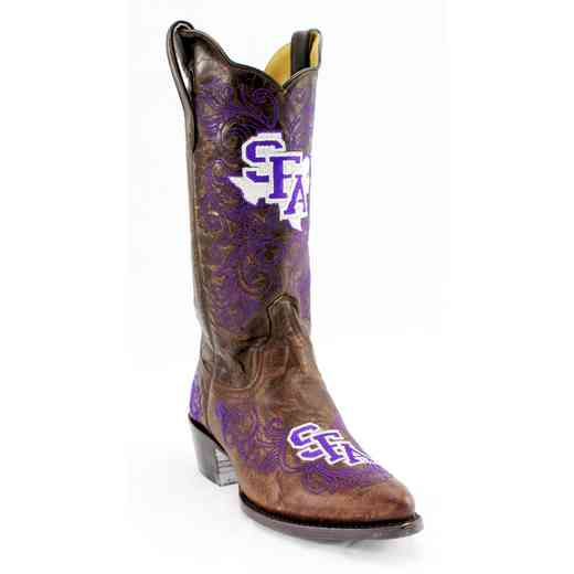 "Ladies 13"" SFA Lumberjacks Tailgate Cowgirl Boots by Gameday Boots"