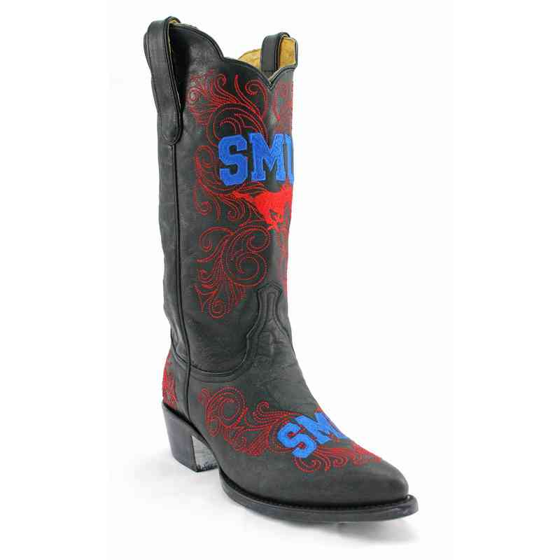 Men's SMU Mustangs Executive Cowboy Boots