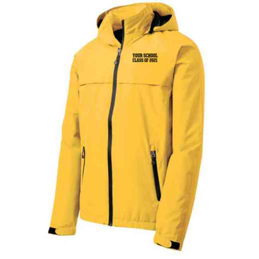 Class of  Embroidered Waterproof Rain Jacket