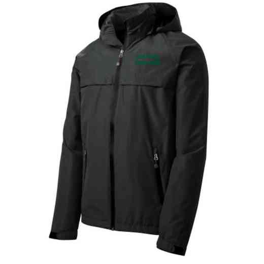 Color Guard Embroidered Waterproof Rain Jacket