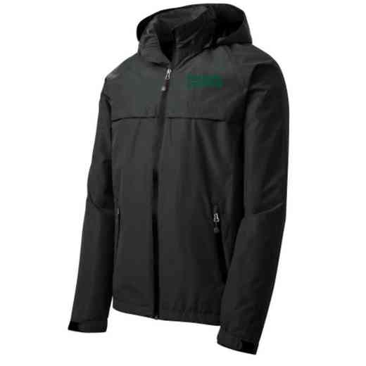 Student Council Embroidered Waterproof Rain Jacket