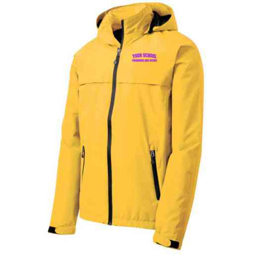 Swimming and Diving Embroidered Waterproof Rain Jacket
