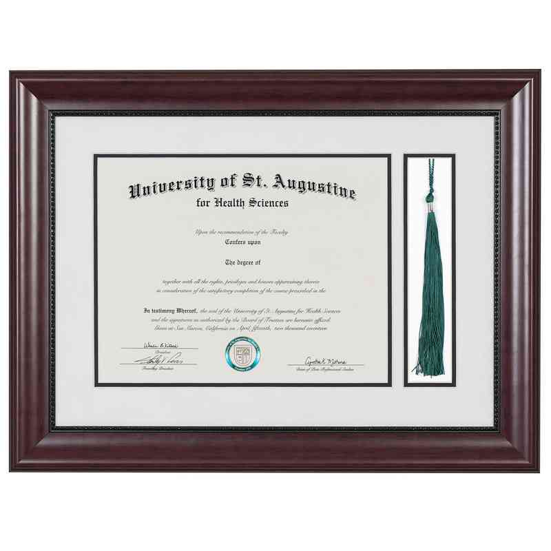 Premium 11 X 14 Classic Diploma Frame With Tassel Display