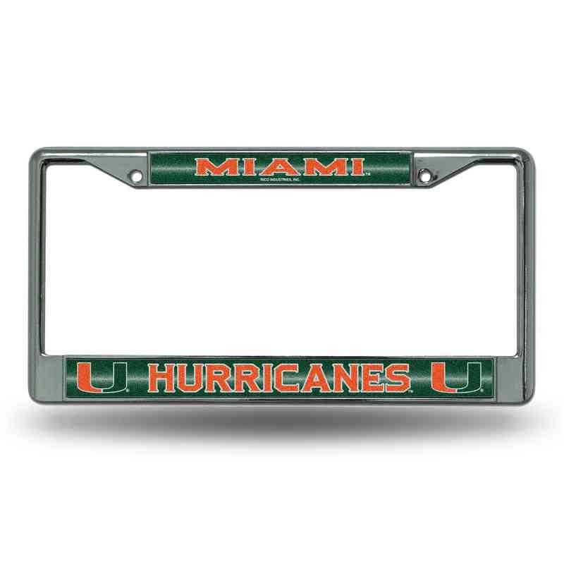 Miami Bling Chrome Frame