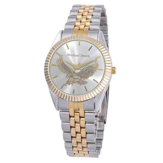 PW00232: Ladies Silver Eagle Two Toned Watch