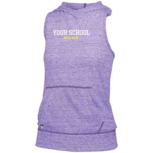 Beta Club Holloway Ladies Advocate Hooded Tank