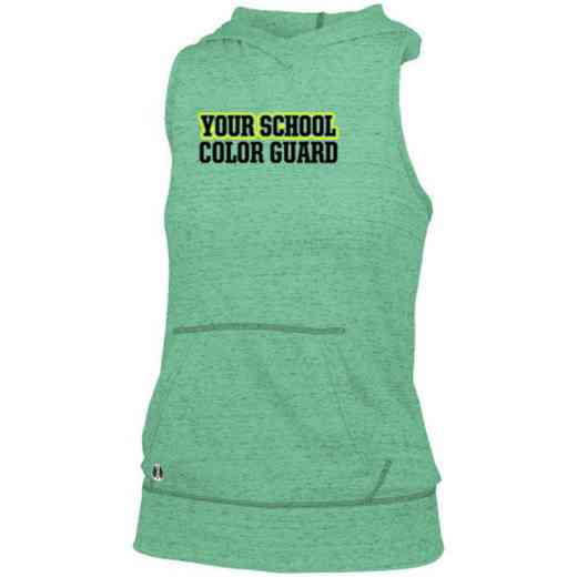 Color Guard Holloway Ladies Advocate Hooded Tank