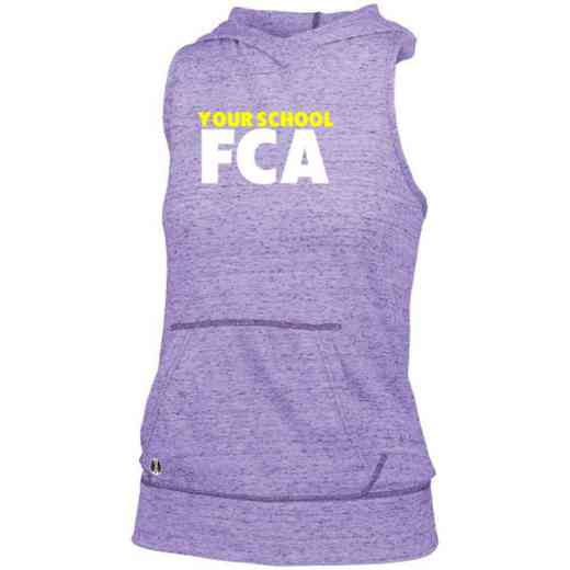 FCA Holloway Ladies Advocate Hooded Tank