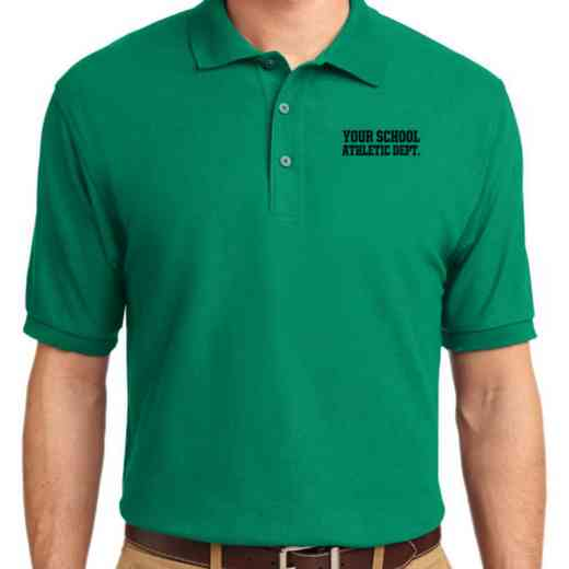 Athletic Department Embroidered Adult Silk Touch Polo