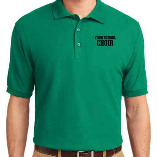 Choir Embroidered Adult Silk Touch Polo