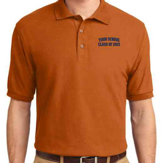 Class of  Embroidered Adult Silk Touch Polo