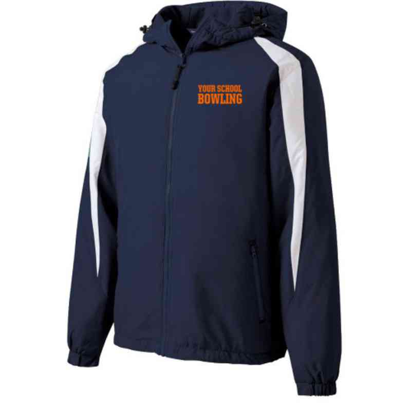 Bowling Embroidered  Port and Company Waterproof Rain Jacket