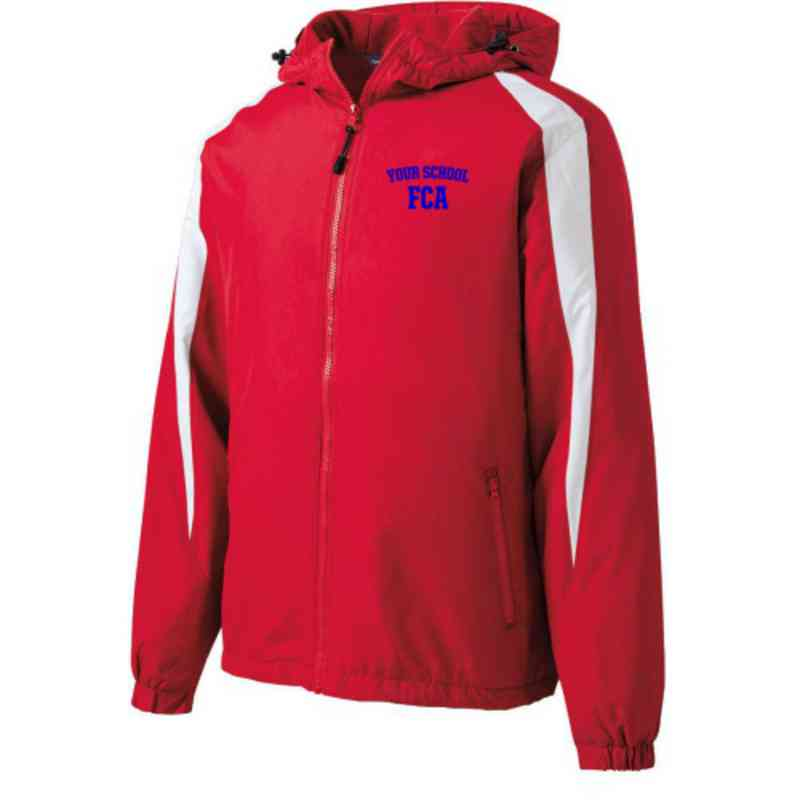 FCA Embroidered  Port and Company Waterproof Rain Jacket