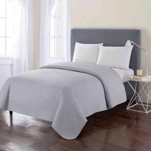 Columbus Modern Quilt- Gray