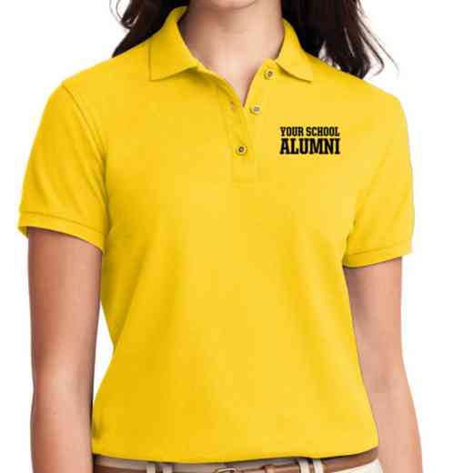 Alumni Embroidered Sport-Tek Women's Silk Touch Polo