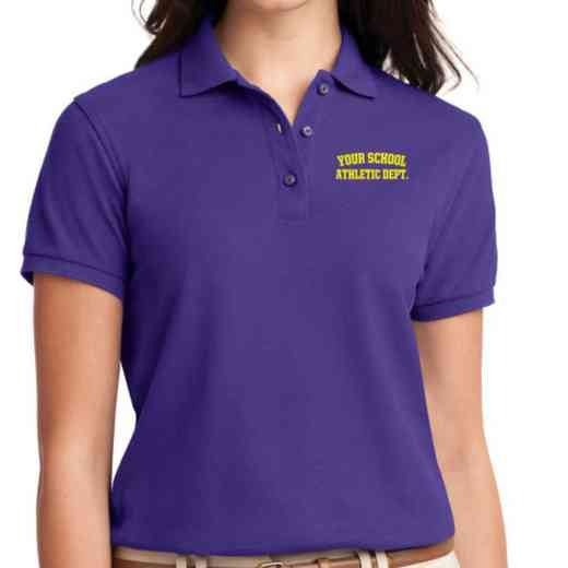 Athletic Department Embroidered Sport-Tek Women's Silk Touch Polo