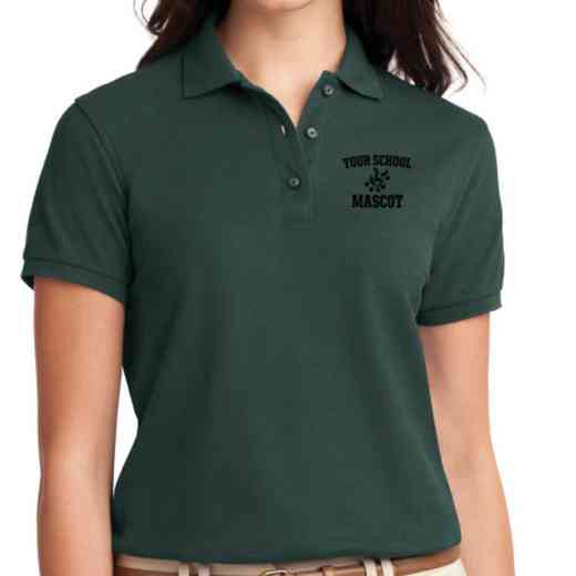 Band Embroidered Sport-Tek Women's Silk Touch Polo