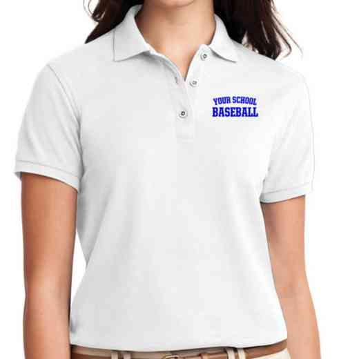 Baseball Embroidered Sport-Tek Women's Silk Touch Polo