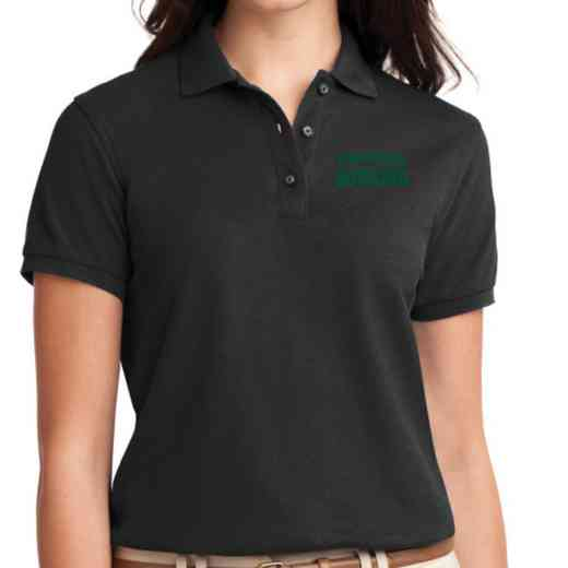 Bowling Embroidered Sport-Tek Women's Silk Touch Polo