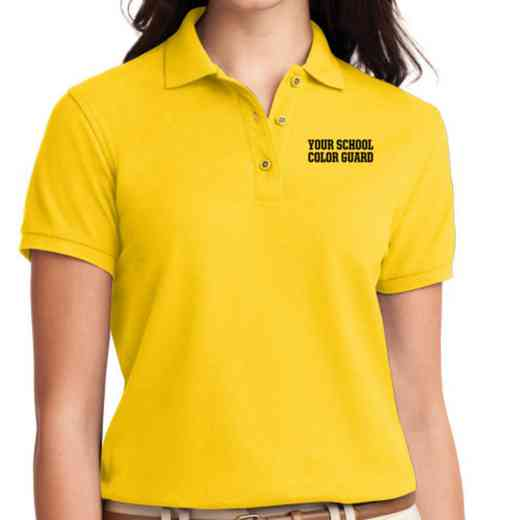Color Guard Embroidered Sport-Tek Women's Silk Touch Polo
