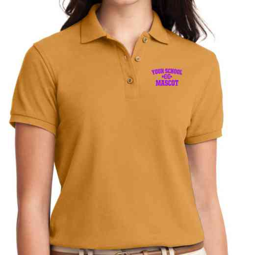 Cross Country Embroidered Sport-Tek Women's Silk Touch Polo