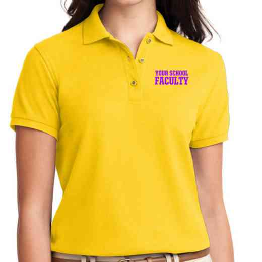 Faculty Embroidered Sport-Tek Women's Silk Touch Polo
