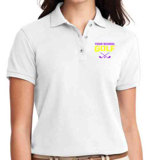 Golf Embroidered Sport-Tek Women's Silk Touch Polo