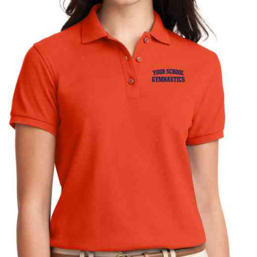 Gymnastics Embroidered Sport-Tek Women's Silk Touch Polo