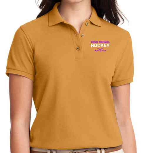 Hockey Embroidered Sport-Tek Women's Silk Touch Polo
