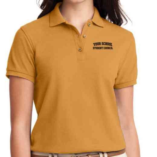 Student Council Embroidered Sport-Tek Women's Silk Touch Polo