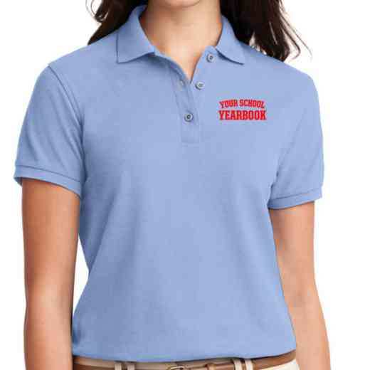Yearbook Embroidered Sport-Tek Women's Silk Touch Polo