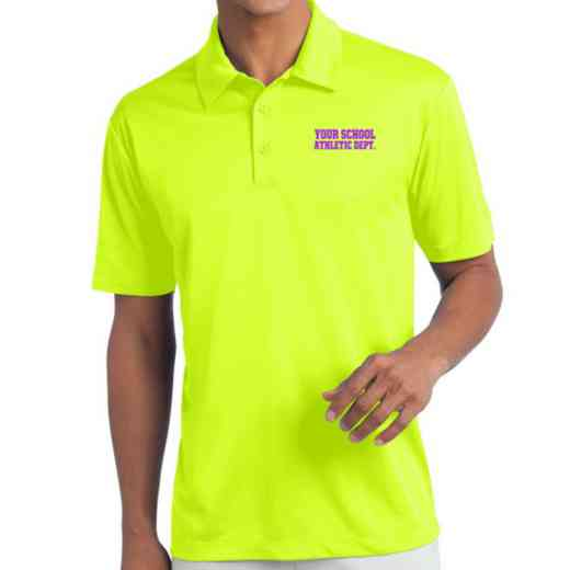 Athletic Department Embroidered Silk Touch Performance Polo