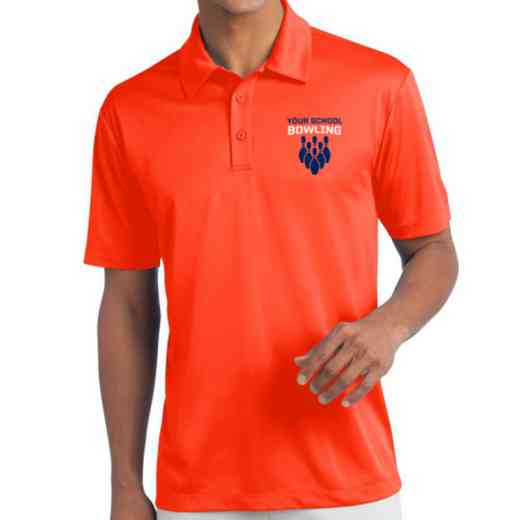 Bowling Embroidered Silk Touch Performance Polo