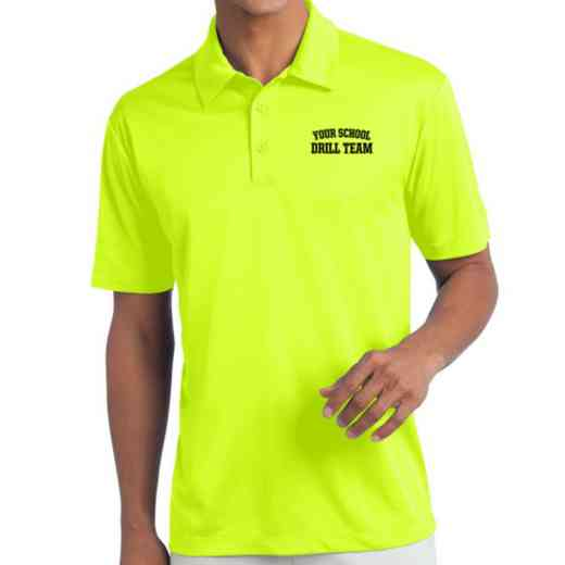 Drill Team Embroidered Silk Touch Performance Polo