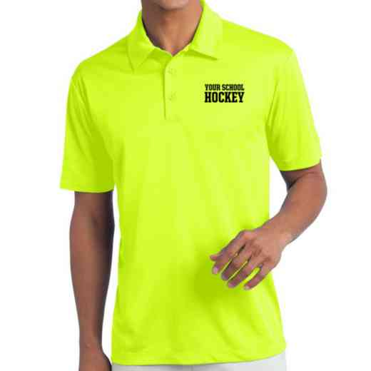 Hockey Embroidered Silk Touch Performance Polo