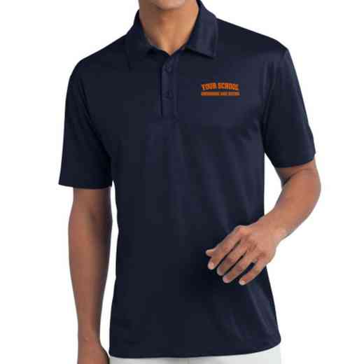 Swimming and Diving Embroidered Silk Touch Performance Polo