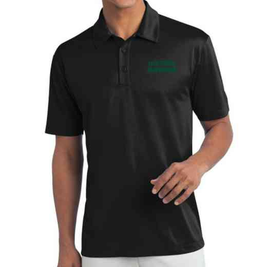 Newspaper Embroidered Silk Touch Performance Polo
