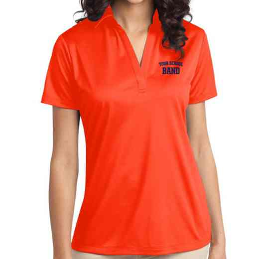 Band Embroidered Women's Silk Touch Performance Polo