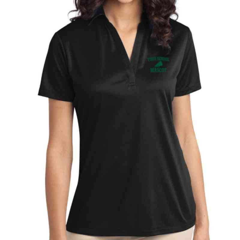 Cheerleading Embroidered Women s Silk Touch Performance Polo 1211c4307