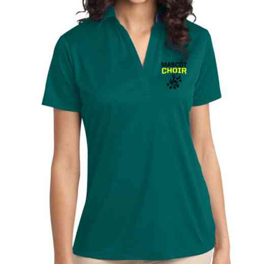 Choir Embroidered Women's Silk Touch Performance Polo
