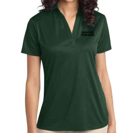 Color Guard Embroidered Women's Silk Touch Performance Polo