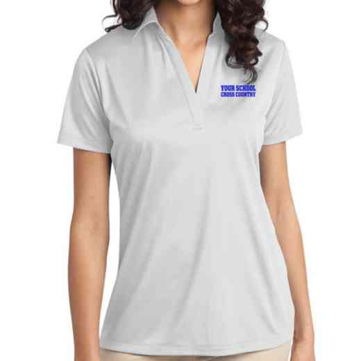 Cross Country Embroidered Women's Silk Touch Performance Polo