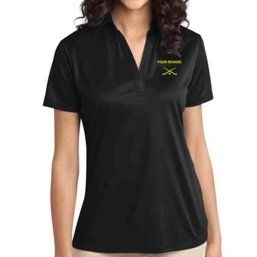 Field Hockey Embroidered Women's Silk Touch Performance Polo