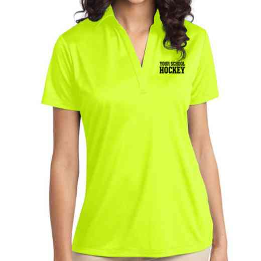 Hockey Embroidered Women's Silk Touch Performance Polo