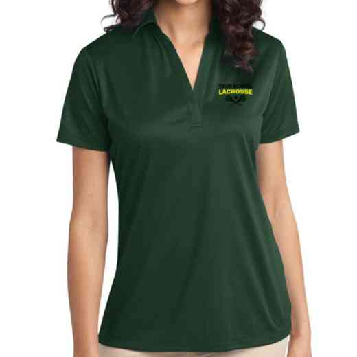 Lacrosse Embroidered Women's Silk Touch Performance Polo